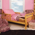 Sweet Safari Toddler Bedding Set, Girl Toddler Bedding Sets | Toddler Girl Bedding | ABaby.com