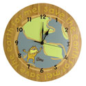 Dr. Seuss The Lorax Wall Clock, Nursery Clocks | Kids Wall Clocks | ABaby.com