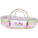 Tulip Moses Basket, Moses Baskets With Stands | Baby Moses Baskets | ABaby.com