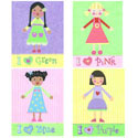 Best Friends Wall Art, Girls Wall Art | Artwork For Girls Room | ABaby.com