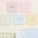 Sweet Pea Wall Art Collection, Girls Wall Art | Artwork For Girls Room | ABaby.com