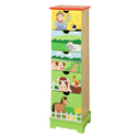 Happy Farm Drawer Cabinet, Children's Dressers | Kids | Toddler | ABaby.Com