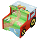 Happy Farm Step Stool, Farm Animals Themed Toys | Kids Toys | ABaby.com