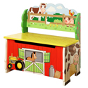 Happy Farm Storage Bench, Farm Animals Themed Toys | Kids Toys | ABaby.com