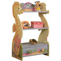 Under The Sea Book Shelf, Baby Bookshelf | Kids Book Shelves | ABaby.com