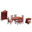Doll Furniture Dining Room Set, Doll Houses | Playsets | Kids Doll Houses | ABaby.com