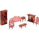 Doll Furniture Living Room Set, Doll Houses | Playsets | Kids Doll Houses | ABaby.com