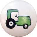 Tractor Knob (Pack of 6), Farm Animals Nursery Decor | Farm Animals Wall Decals | ABaby.com