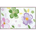 Flower Stitch Rug, Novelty Rugs | Cheap Personalized Area Rugs | ABaby.com