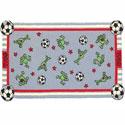 Soccer Frogs Rug