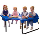 Four Seat Junior Table, Children Table And Chair Sets | Toddler Table And Chairs | ABaby.com