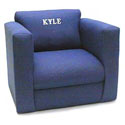 Personalized Kid's Upholstered Rocker, Kids Chairs | Personalized Kids Chairs | Comfy | ABaby.com