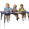 Three Seat Toddler Table, Baby High Chairs | Designer High Chairs | ABaby.com