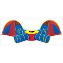 Tunnels of Fun Combo, Outdoor Playhouse | Kids Play Houses | Kids Play Tents | ABaby.com