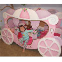 Princess Carriage Twin Bed