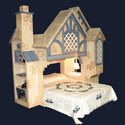 Snow White Cottage Bunk Bed, Fairy Themed Cribs | Fairy Beds | ABaby.com
