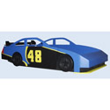 Stock Race Car Bed, Childrens Twin Beds | Full Beds | ABaby.com