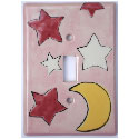 Twinkle Star Switch Plate,