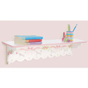 Ballet Blooms Wall Shelf, Peg Shelves | Kids Nursery Wall Shelves | ABaby.com