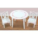 Ballet Blooms Table and Chairs Set, Children Table And Chair Sets | Toddler Table And Chairs | ABaby.com