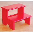 Carved Lines Step Stool, Step Stools For Children | Kids Stools | Kids Step Stools | ABaby.com