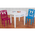 Peace Game Table & Chair Set, Children Table And Chair Sets | Toddler Table And Chairs | ABaby.com