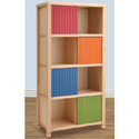 Sliding Carved Door Bookshelf, Baby Bookshelf | Kids Book Shelves | ABaby.com