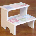 XOXO Step Stool, Step Stools For Children | Kids Stools | Kids Step Stools | ABaby.com