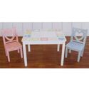 XOXO Table & Chair Set, Children Table And Chair Sets | Toddler Table And Chairs | ABaby.com