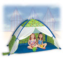 Under the Sea Cabana Play Tent, Outdoor Playhouse | Kids Play Houses | Kids Play Tents | ABaby.com