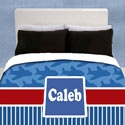 Personalized Airplane Toddler Bedding,