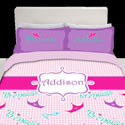 Personalized Little Princess Toddler Bedding,
