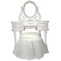 French Rose Vanity , Kids Vanities | Girls Kids Vanity Set | ABaby.com