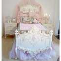Florentina Princess Bed, Princess Themed Nursery | Girls Princess Bedding | ABaby.com