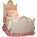 French Rose Bed, Childrens Twin Beds | Full Beds | ABaby.com