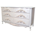 French Rose Dresser, Children's Dressers | Kids | Toddler | ABaby.Com