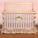 Little Princess Convertible Crib, Princess Themed Nursery | Girls Princess Bedding | ABaby.com