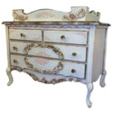 Delila English Rose Garden Dresser/Changer, Dresser And Changing Table Combo | Nursery Dressers | ABaby.com