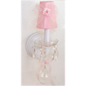 Pink Tulle Sconce, Nursery Wall Sconces | Girls Wall Sconce | ABaby.com