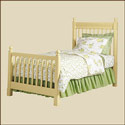 Garden Gate Scalloped Bed, Childrens Beds | Girls Twin Bed | ABaby.com
