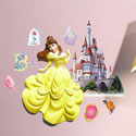 3D Belle Wall Decor, Nursery Wall Art | Fantasy Wall Art | ABaby.com