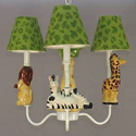 Safari Walk About Chandelier, Nursery Lighting | Kids Floor Lamps | ABaby.com