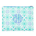 Sea Tiles Zippered Pouch