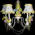 Friendly Dragonfly 5 Arm Chandelier, Butterfly Themed Nursery | Butterfly Bedding | ABaby.com