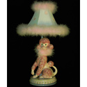 Poodle 'n Polka Dots Table Lamp, Paris Posh Nursery Decor | Paris Posh Wall Decals | ABaby.com