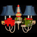 Choo Choo Train Chandelier, Nursery Lighting | Kids Floor Lamps | ABaby.com