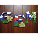 Sweet Bugs Wall Letters, Kids Wall Letters | Custom Wall Letters | Wall Letters For Nursery