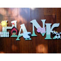 Farm Wall Letters, Kids Wall Letters | Custom Wall Letters | Wall Letters For Nursery