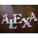 Alexa�s Princess Wall Letters, Kids Wall Letters | Custom Wall Letters | Wall Letters For Nursery