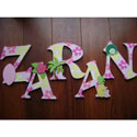 Tropical Wall Letters, Kids Wall Letters | Custom Wall Letters | Wall Letters For Nursery
